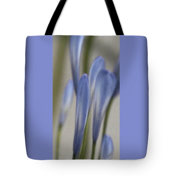 Before - Lily Of The Nile Tote Bag by Ben and Raisa Gertsberg