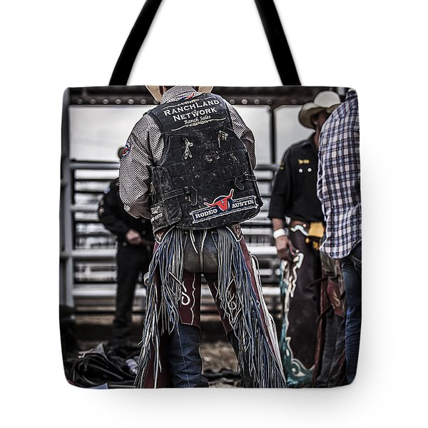 Before The Ride Tote Bag by Amber Kresge