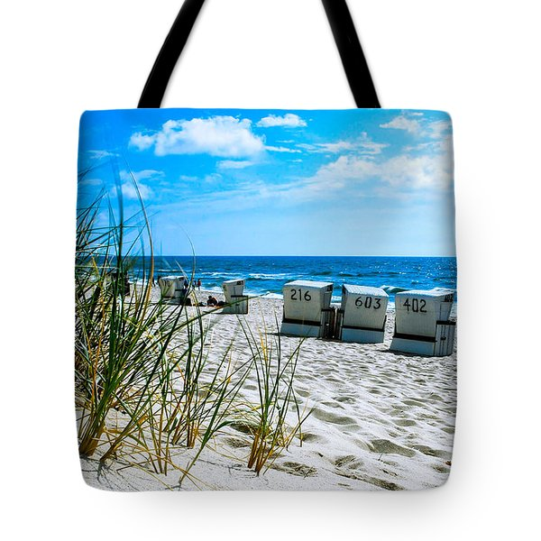 Behind The Dunes -light Tote Bag by Hannes Cmarits