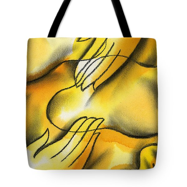 Belief Tote Bag by Leon Zernitsky
