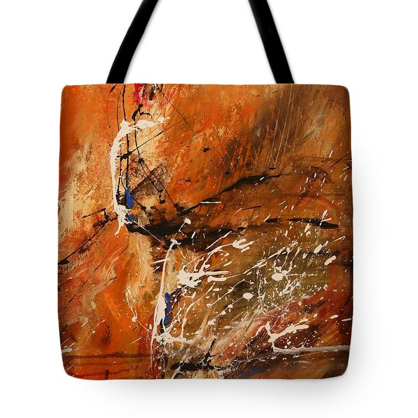 Believe In Dreams - Abstract Art Tote Bag by Ismeta Gruenwald