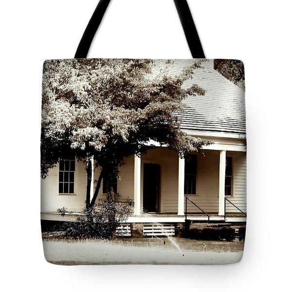 Bellavue Plantation  Tote Bag by Debra Forand