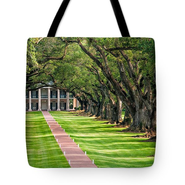 Beneath Live Oaks Tote Bag by Steve Harrington