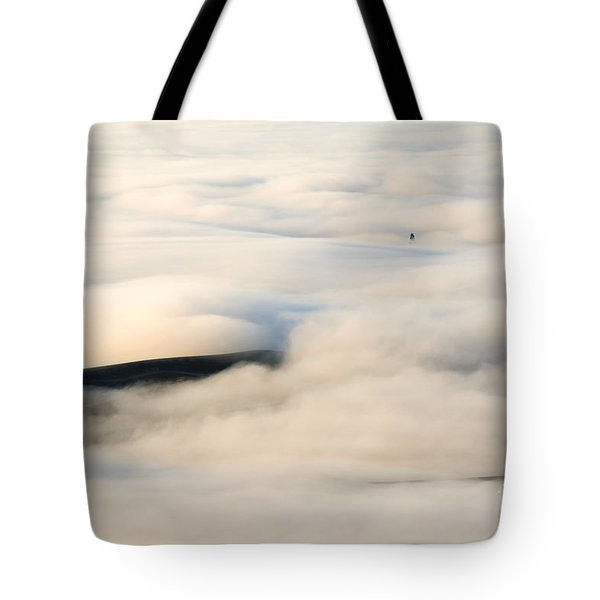 Beneath The Blanket Tote Bag by Mike  Dawson