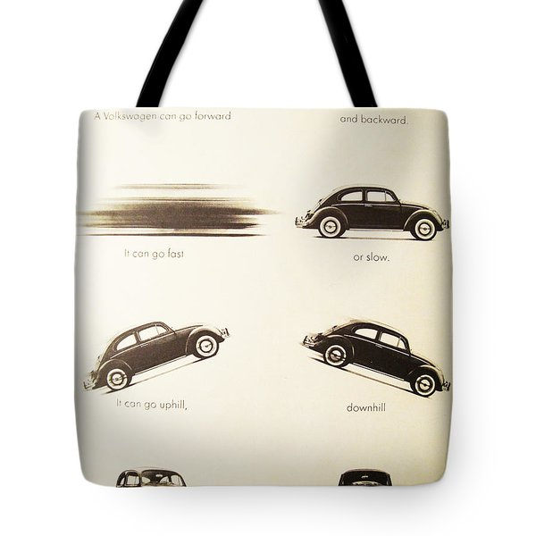 Benefits of a Volkwagen Tote Bag by Nomad Art And  Design