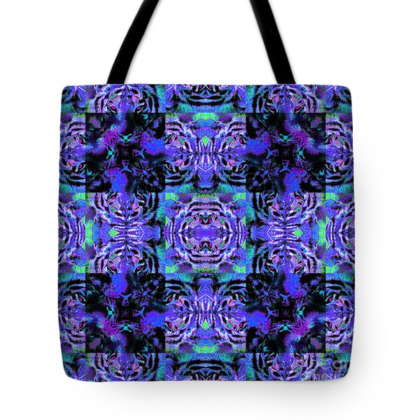 Bengal Tiger Abstract 20130205m80 Tote Bag by Wingsdomain Art and Photography