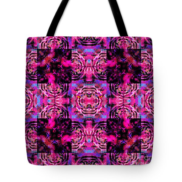 Bengal Tiger Abstract 20130205p0 Tote Bag by Wingsdomain Art and Photography