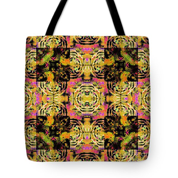 Bengal Tiger Abstract 20130205p80 Tote Bag by Wingsdomain Art and Photography