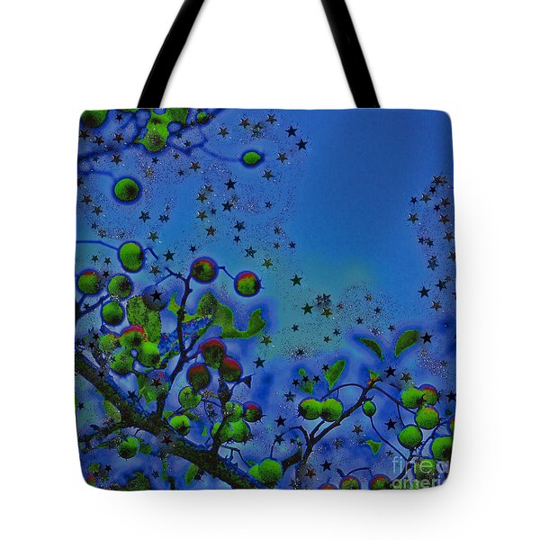 Berry Sky Magic By Jrr Tote Bag by First Star Art