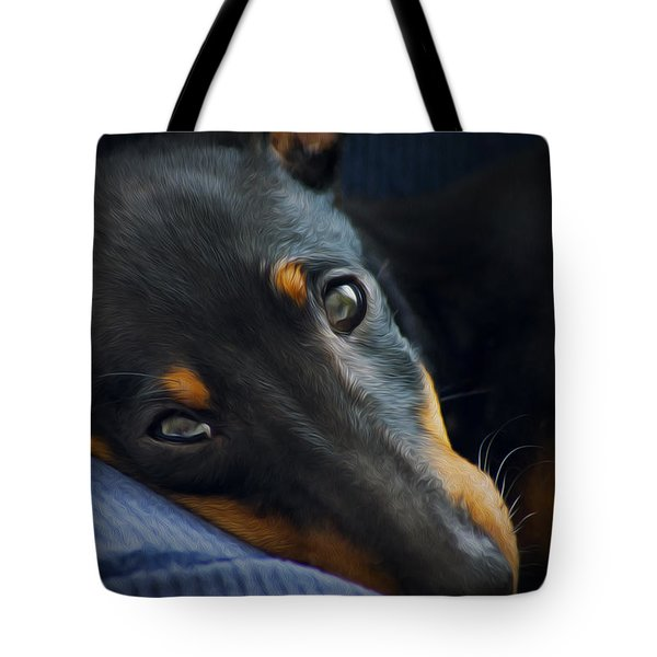 Best Friend Tote Bag by Aged Pixel