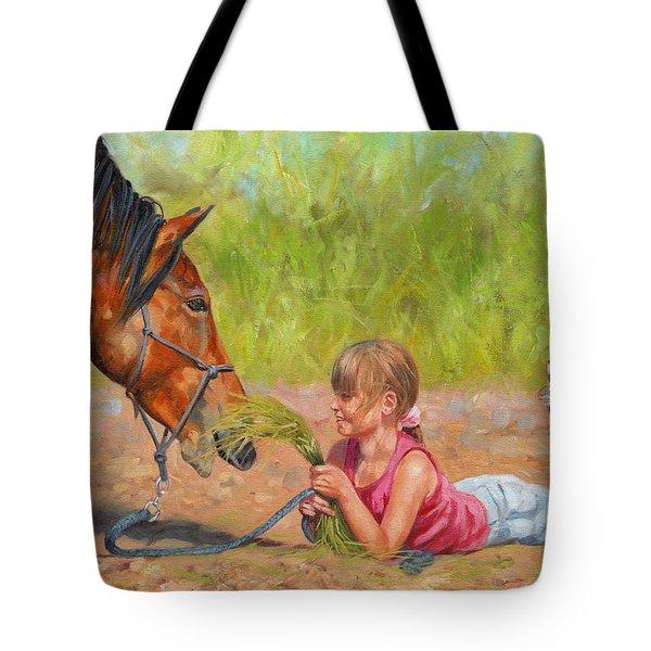 Best Friends Tote Bag by David Stribbling