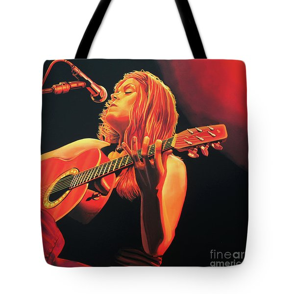 Beth Hart  Tote Bag by Paul Meijering