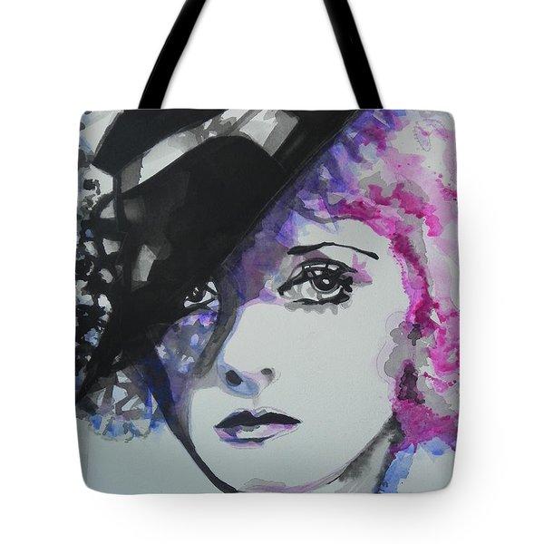 Bette Davis 02 Tote Bag by Chrisann Ellis