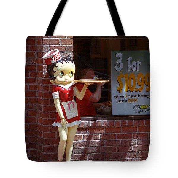 Betty Boop 1 Tote Bag by Frank Romeo