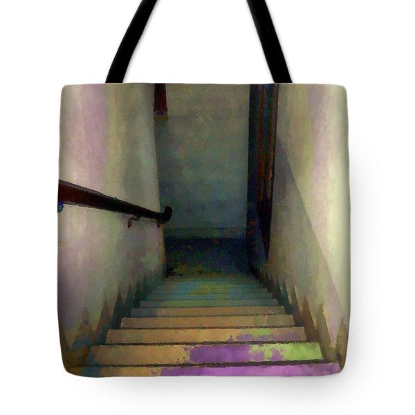 Between Floors Tote Bag by RC DeWinter