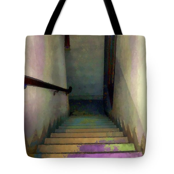 Between Floors Tote Bag by RC deWinter