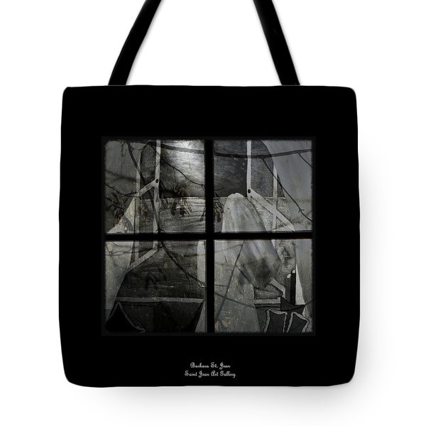 Between The Frames Tote Bag by Barbara St Jean