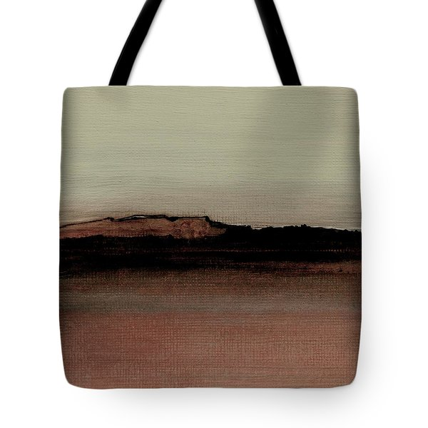 Between The Woods And Frozen Lake  Number 1133-10 Tote Bag by Diane Strain