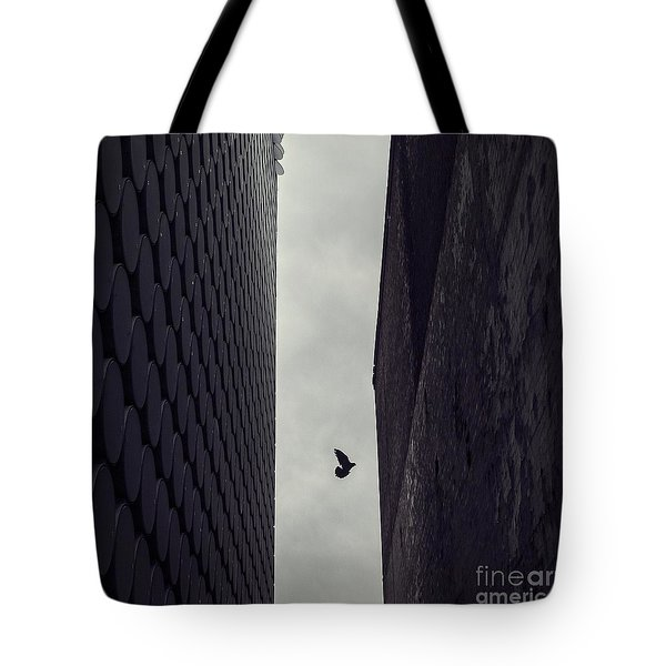 Between Worlds Tote Bag by Andrew Paranavitana