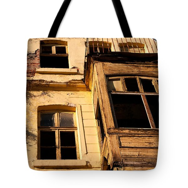 Beyoglu Old House 02 Tote Bag by Rick Piper Photography