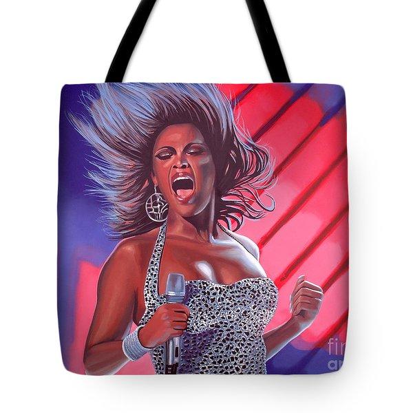 Beyonce Tote Bag by Paul  Meijering