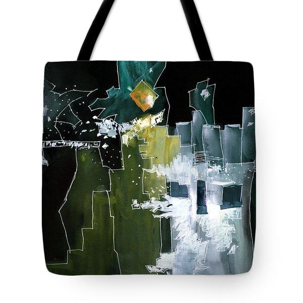 Beyond Horizons Tote Bag by Anil Nene