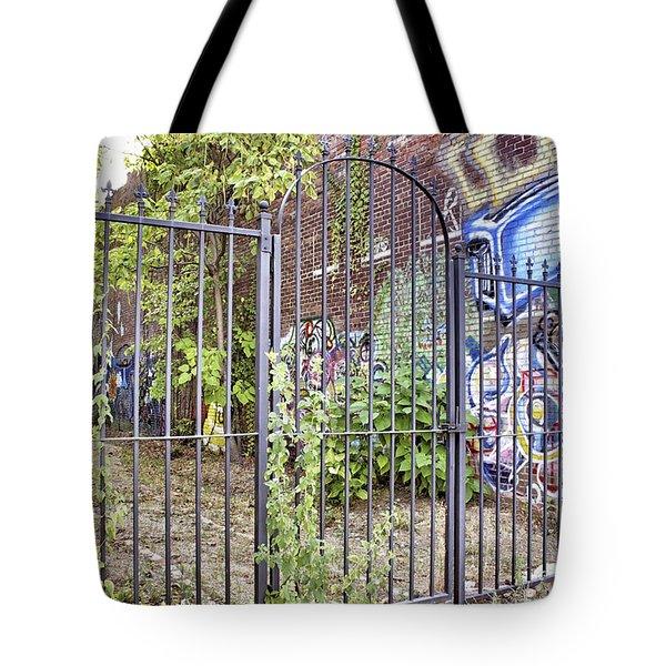 Beyond The Gate Tote Bag by Jason Politte