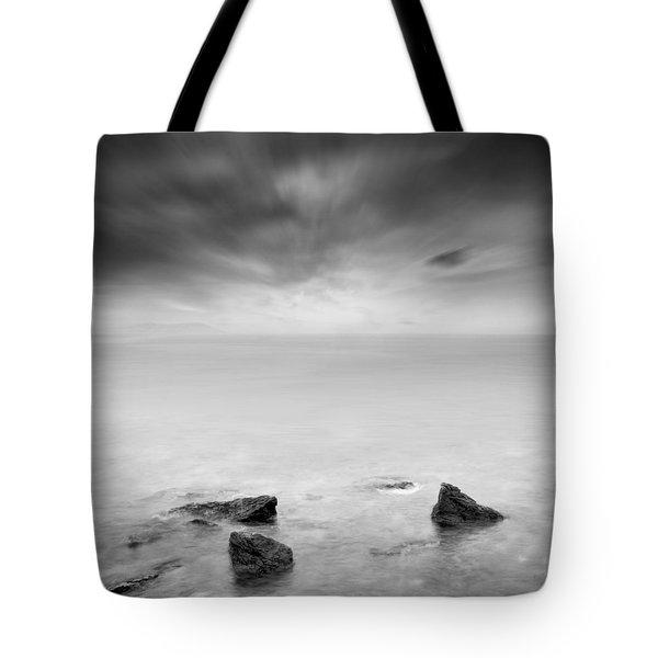 Beyond the horizon Tote Bag by Taylan Soyturk