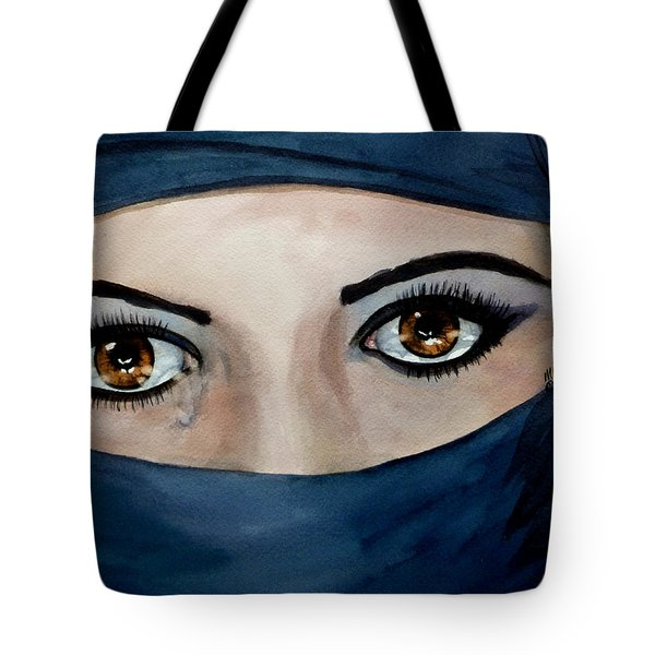 Beyond The Veil Tote Bag by Michal Madison