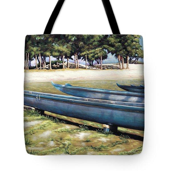 Biding Time Tote Bag by Sandra Blazel - Printscapes