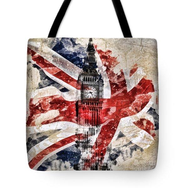 Big Ben Tote Bag by Mo T