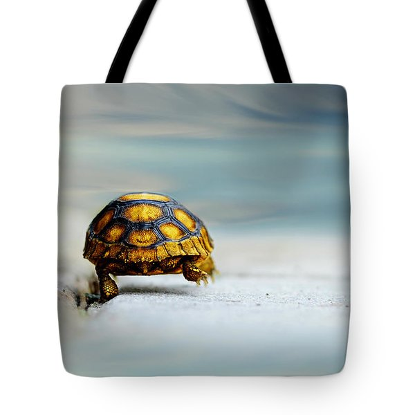 Big Big World Tote Bag by Laura Fasulo
