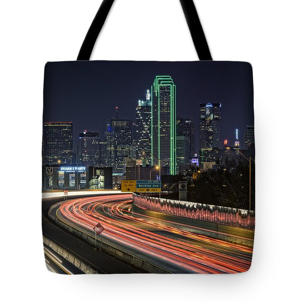 Big D Tote Bag by Rick Berk