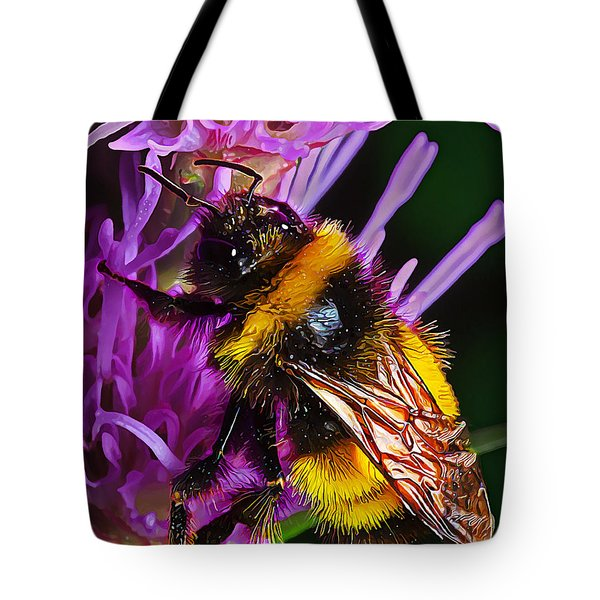 Big Dusty Bumble Tote Bag by Bill Caldwell -        ABeautifulSky Photography