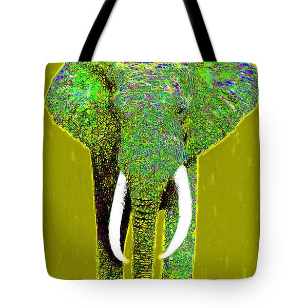 Big Elephant 20130201p60 Tote Bag by Wingsdomain Art and Photography