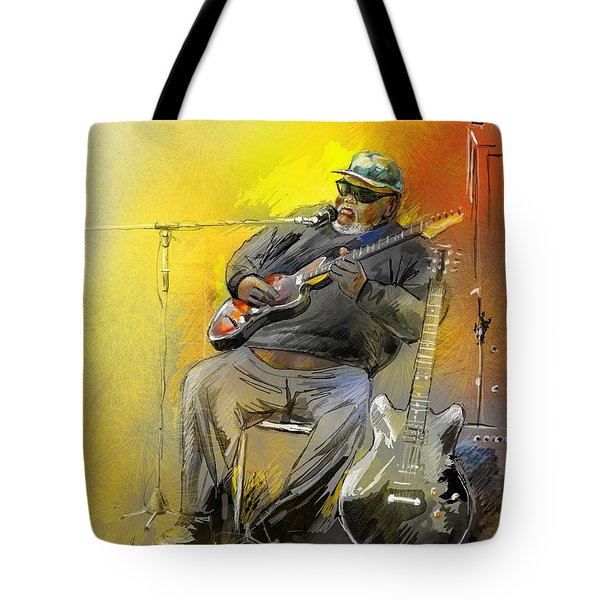 Big Jerry In Memphis Tote Bag by Miki De Goodaboom