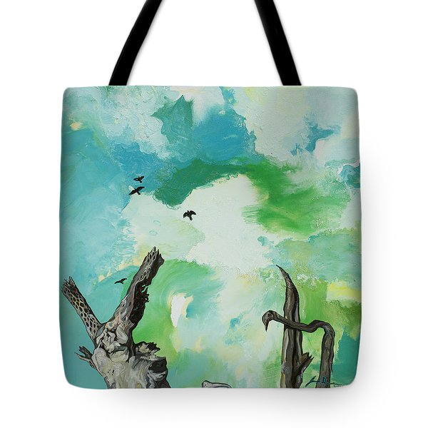Big Sky Tote Bag by Joseph Demaree