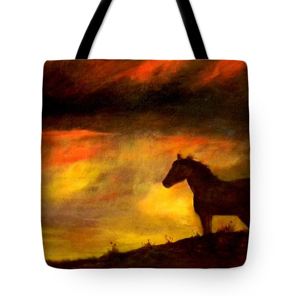 Big Sky Tote Bag by Judie White