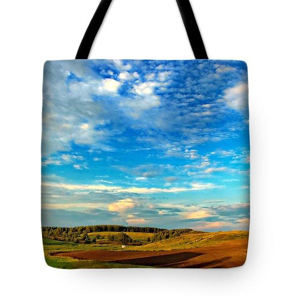 Big Sky Ontario Tote Bag by Steve Harrington