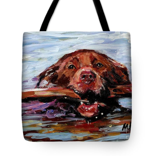 Big Stick Tote Bag by Molly Poole