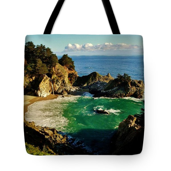 Big Sur Tote Bag by Benjamin Yeager