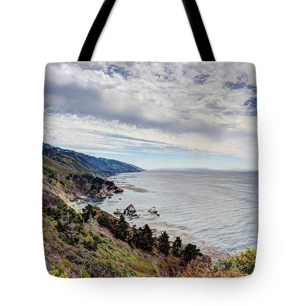 Big Sur Coast Tote Bag by Heidi Smith