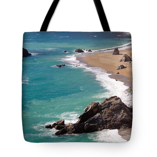 Big Sur Coast Tote Bag by Lynn Bauer