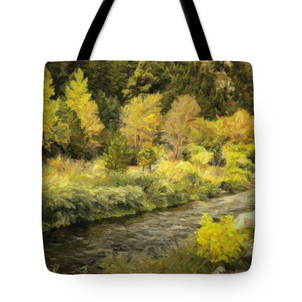 Big Thompson River 4 Tote Bag by Jon Burch Photography
