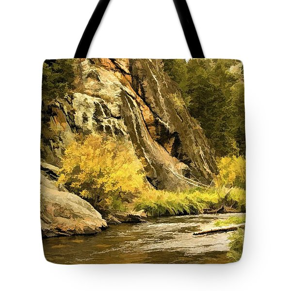 Big Thompson River 5 Tote Bag by Jon Burch Photography