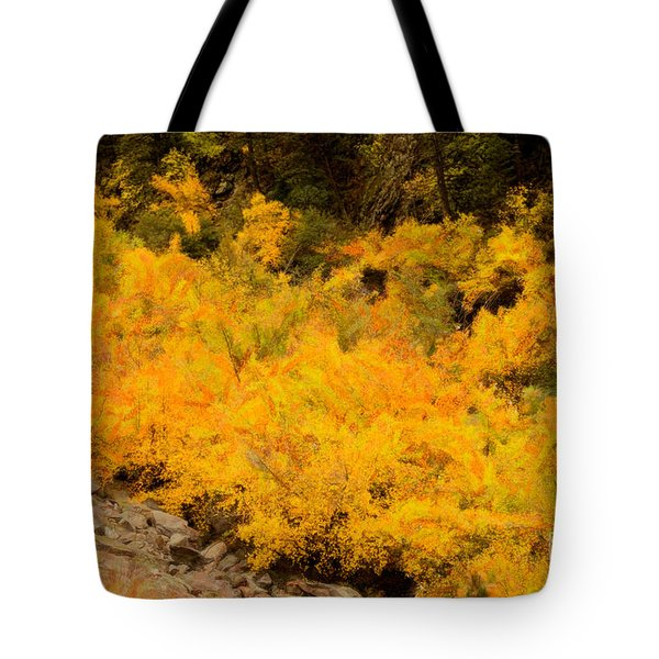 Big Thompson River - 9 Tote Bag by Jon Burch Photography