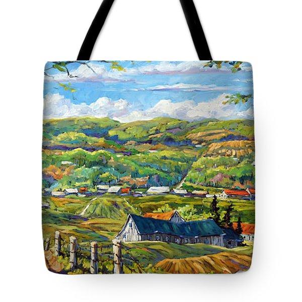 Big Valley By Prankearts Tote Bag by Richard T Pranke