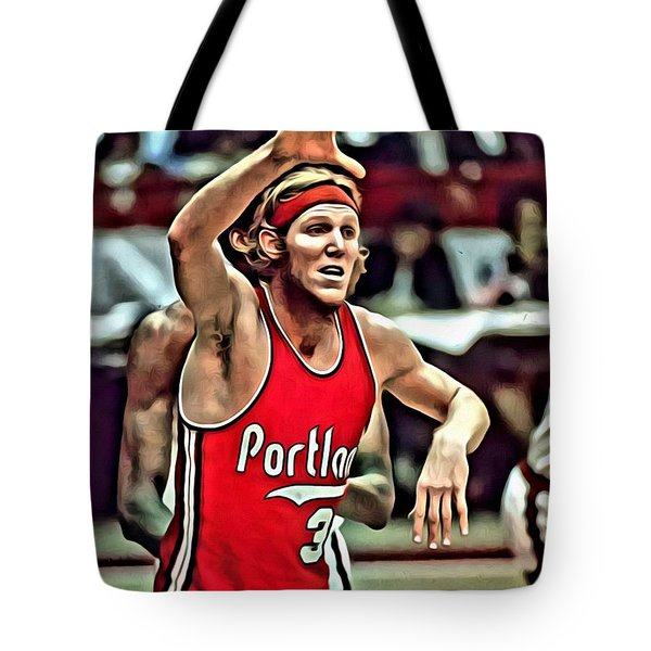 Bill Walton Tote Bag by Florian Rodarte