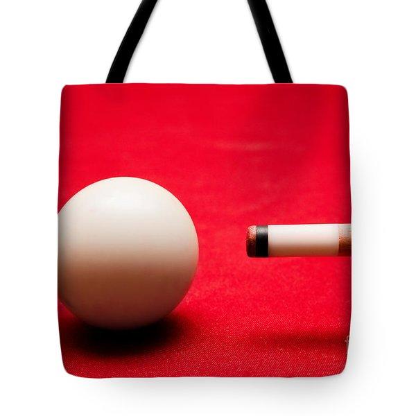 Billards Pool Game Tote Bag by Michal Bednarek