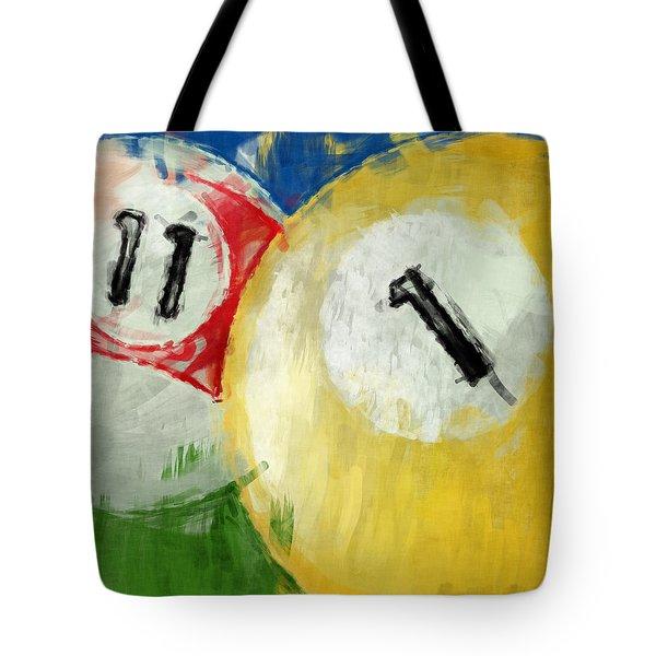 Billiards 11 1 Tote Bag by David G Paul